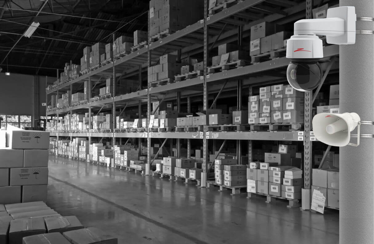 warehouse security camera system